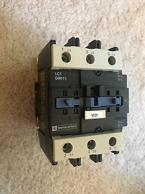 TELEMECANIQUE CONTACTOR LC1 D8011 used
