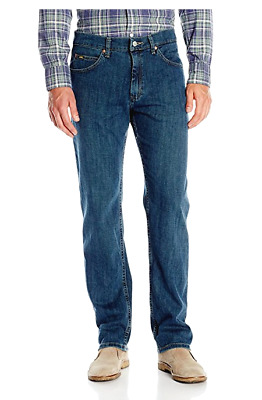 Men's Lee Regular Fit Stretch Straight Leg Jeans