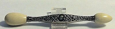 Antique  Sterling Silver Unger Brothers Glove Darner Needle Case Sewing #371