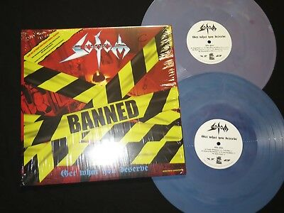 SODOM - Get What You Deserve 2-LP Gatefold Wax Maniax - Marbled Vinyl LIM.250