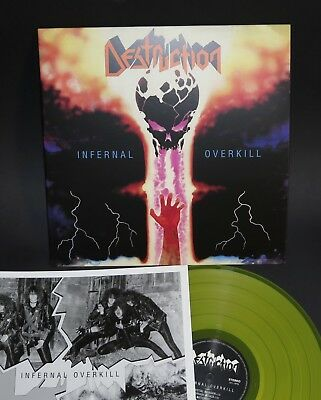 Destruction - Infernal Overkill LP yellow vinyl
