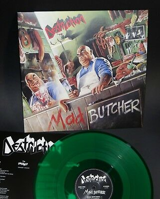 "Destruction - Mad Butcher 12"" Green Vinyl - exumer assassin"