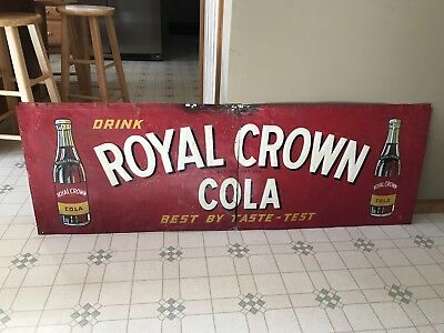 Vintage Metal Sign,vintage Rc Cola Sign Royal Crown Cola Sign Vintage Soda Sign