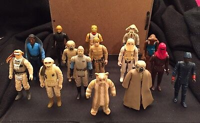 Vintage Star Wars Mixed Lot Of 15 Beaters 1977-1983