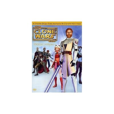 Star Wars - The Clone Wars - Stagione 01 #03 Dvd 5051891007673
