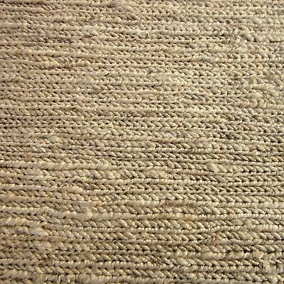 CURUA NATURAL THICK WEAVE JUTE BEIGE FLOOR RUG RUNNER 80x300cm *FREE DELIVERY**