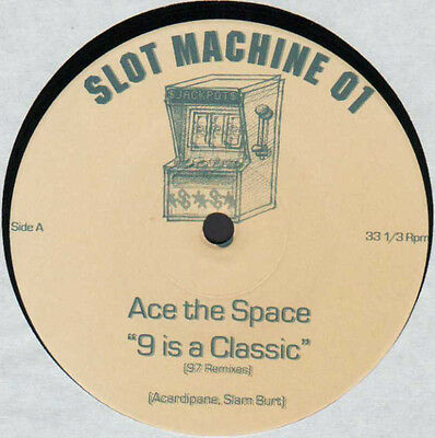 "12"" De**ace The Space - 9 Is A Classic (97 Remixes) (Slotmachine)***10471"