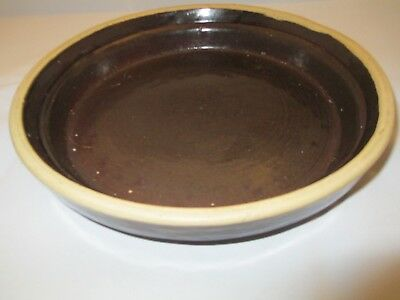 Uhl Pottery Stoneware Hard To Find Nappie Dish.
