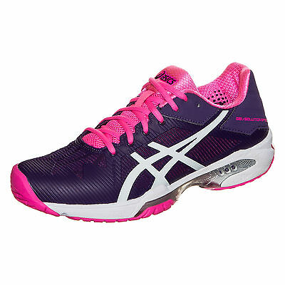 ASICS Gel-Solution Speed 3 Tennisschuh Damen lila / pink / weiß NEU