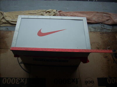 Metal Nike Swoosh Sign