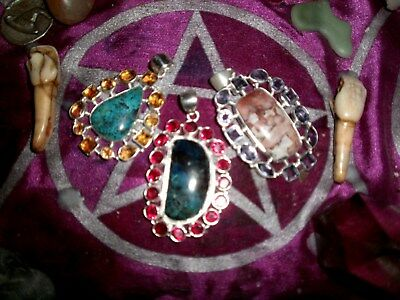 Paranormal Witchs Pendants With 10 Powerful Spells On The Full Moon Xxx 3