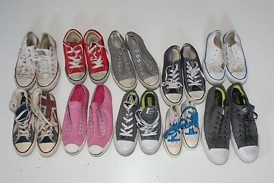 Converse Lot Wholesale Used Shoes Rehab Resale Various Sizes & Styles aTwP