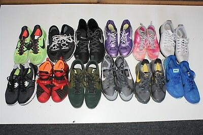 NIKE Lot Wholesale Used Shoes Rehab Resale Collection Various Sizes aT~