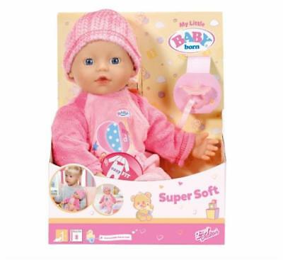 Zapf my little BABY born 822524 Super Soft Stoffpuppe Kinderpuppe Softpuppe