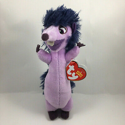 "TY Beanie Baby 6/"" UNA Hedgehog Ferdinand Plush Stuffed Animal w// Ty Heart Tags"