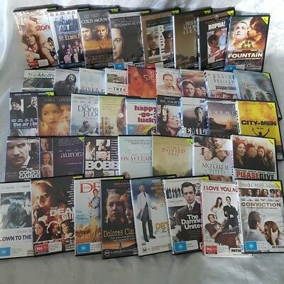 Drama Movie Pack 40 x DVDs Fountain, Bopha, Babel, St Elmos Fire, Tree of Life +