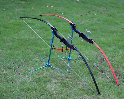 Longbows 18/30/40lbs Black Red Limbs Handle Alloy JH401 Type A Hunting Tool