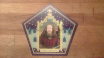 Godric Gryffindor Harry Potter Chocolate Frog Card *WILL MEET/BEAT COMPETITORS*