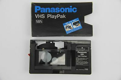 Panasonic PlayPak VHS-C Cassette Adapter Battery Operated VHSC to VHS