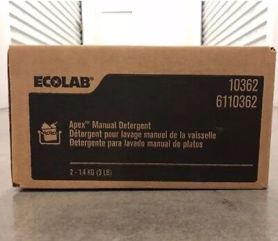 """Ecolab Solid Power XL Capsules. A Full Case of """"4"""" Quantity in a case"""