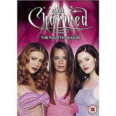 Charmed The complete 4. fourth Season 6 DVD NEW & original box
