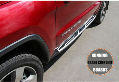Fit For 2011-2018 JEEP Grand Cherokee Running Boards Side Steps Bars SET