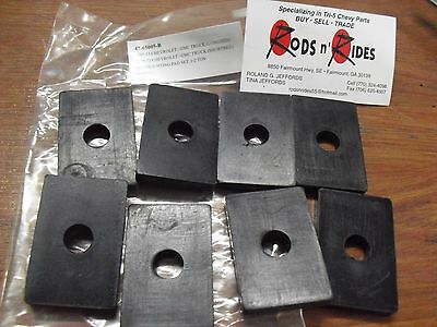 1958 1959 1960 Chevy Gmc Truck Shortbed Mounting Pad Set Half Ton 47 65005 B