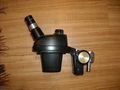 Vintage Bausch and Lomb 0.7x-3x Microscope/10x Eyelenses