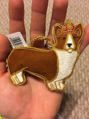 Buckingham Palace Christmas Ornament London England Pembroke Welsh Corgi Queen