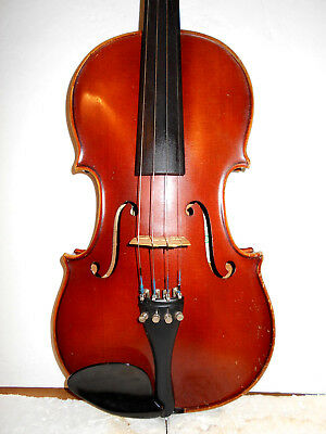 "Antique Old Vintage ""A.R.Seidel"" 2 Pc Back Full Size Violin - No Reserve"