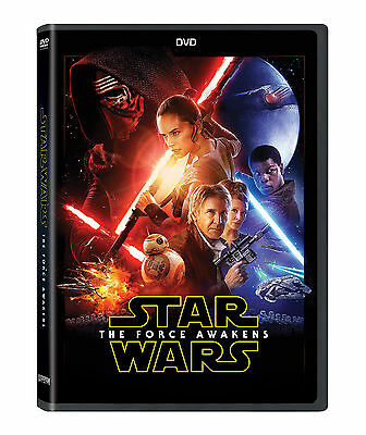 Star Wars: Star Wars The Force Awakens 2016 NEW DVD Episode VII Free Shipping