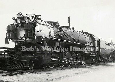 Union Pacific Photo Giant Steam Locomotive x 9000 4-12-2 Railroad UP train