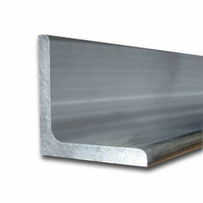 """6061-T6 Aluminum Structural Angle 2"""" x 3"""" x 72"""" long (1/4"""")"""