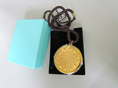 24 Carat Gold Plated Sensor V Pendant by Dr. Patrick Flanagan Mint In Box