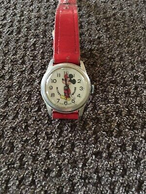 AUTHENTIC Vintage Mickey Mouse Walt Disney Watch  Swiss Made