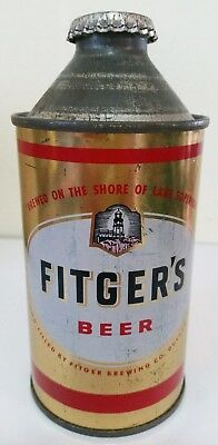 Fitger's cone top beer can