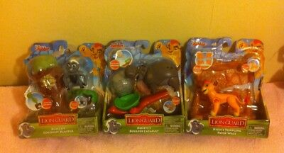 Disney junior lion guard bundle COMPLETE toy figure sets KION BESHTE BUNGA