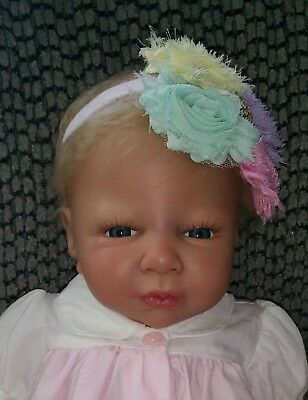 Reborn Baby Girl ~ Faith ~ Sculpted by Shawna Clymer ~ Adorable!
