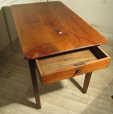 A Superb French Fruit Wood Bistro Table