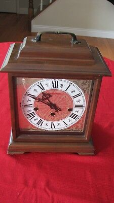VINTAGE HAMILTON WESTMINSTER Chime 8 Day Mantel/Mantle Clock 340 020 Movement