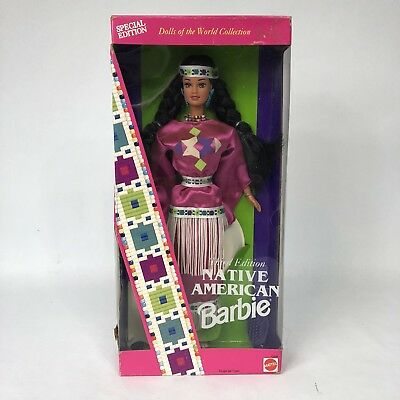 1994 Native American Barbie Dolls of the World Collection - Third Edition