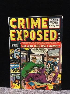 """Crime Exposed No.8   : 1952 :   : """"The Man With Dirty Hands"""" : FN-"""