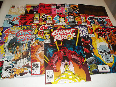Ghost Rider--20 different comics--VF Condition--GREAT DEAL--L@@K