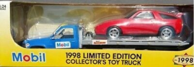 1998 Limited Edition Mobil Collectors Toy Flatbed Truck 1:24 scale NIB