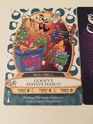 Mickey's Very Merry Christmas Party Sorcerers of the Magic Kingdom Party Card