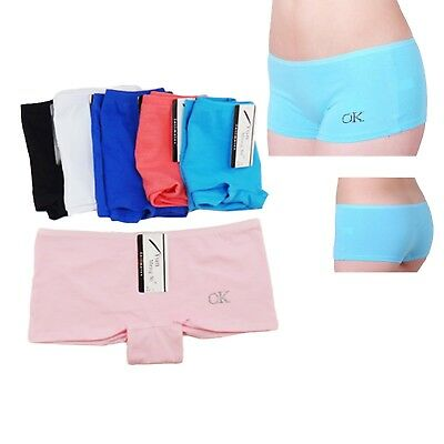 3 Pairs Ladies Womens Plain Midi Briefs With Lace Adults Pants Underwear