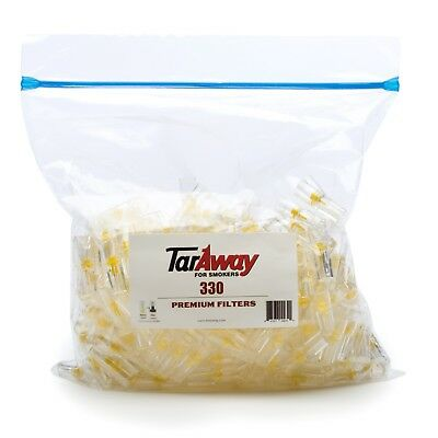 TarAway Cigarette Filters, 330 Filters | Blocks Tar and Nicotine | Disposable