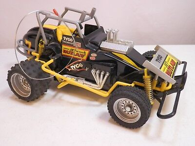 "Tyco ""Jet Outlaw"" Vintage Toy RC Sprint Car Rare Black Dirt Track Radio Shack"