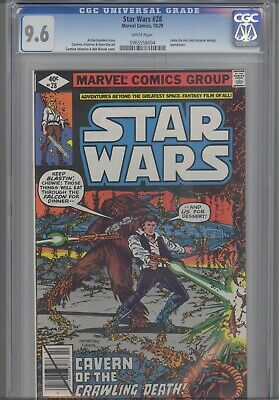 Star Wars #28  CGC 9.6 1979 Marvel  Comic: Jabba the Hut first appearance