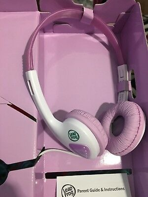 NEW Leap Frog Headphones LeapPadUltra LeapPad2 LeapsterGS LeapReader PINK Girl